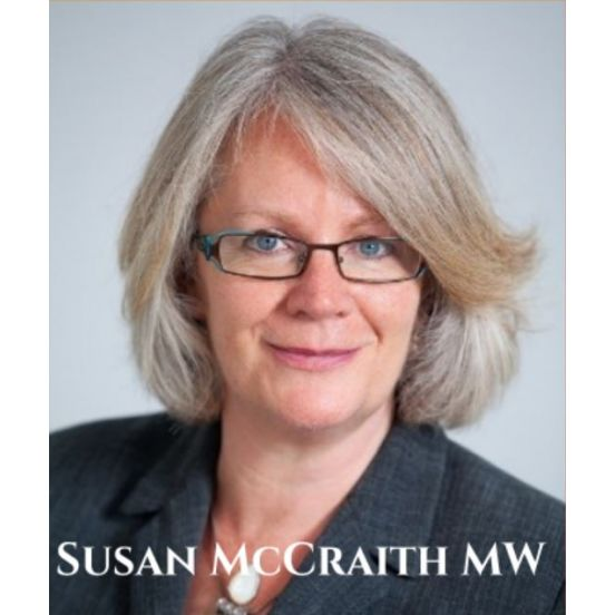 Class in a Glass - An evening With Susan McCraith