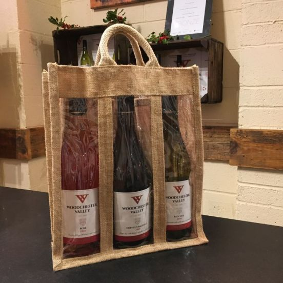 3 Bottle Jute Bag (Bag only)