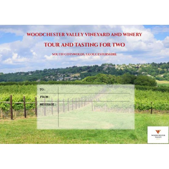 Tour & Tasting Gift Voucher for Two (including postage)