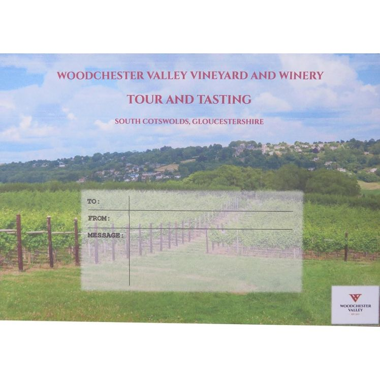 Tour & Tasting Gift Voucher for One ( including postage)