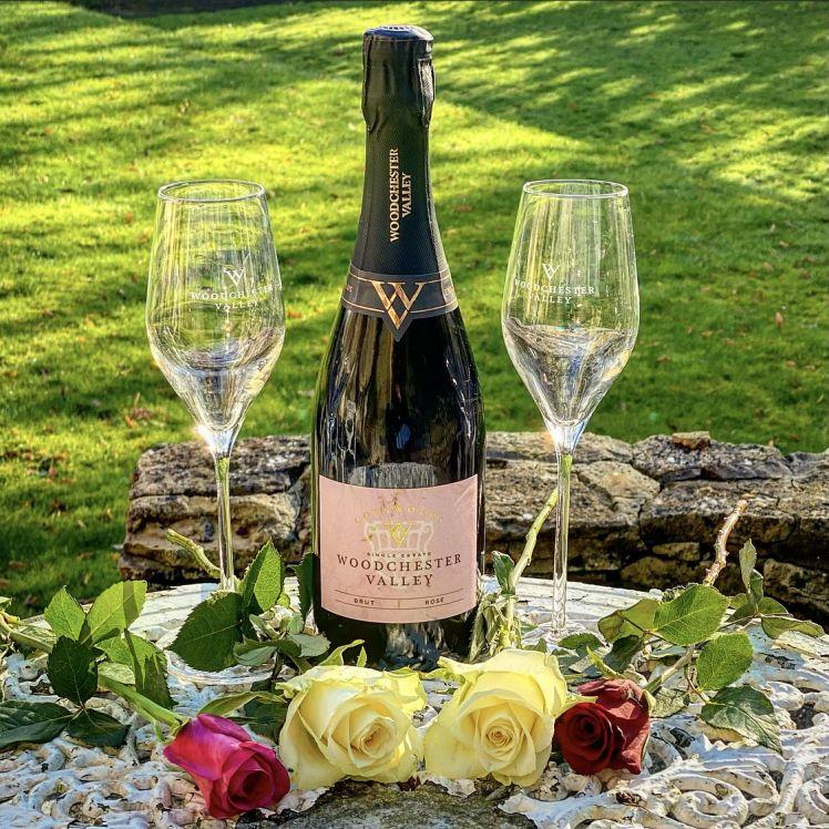 Valentine's Day Sparkling Rosé Gift Set