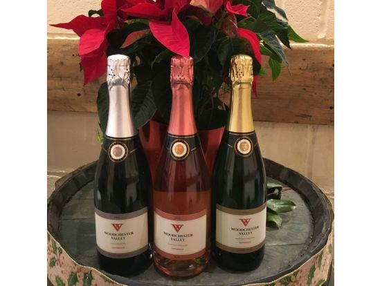 Our sparkling wine is here!