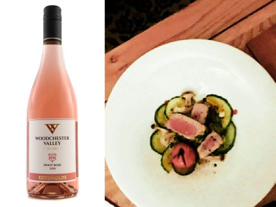 Food match for Pinot Rosé
