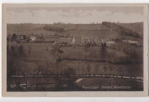 View over Franciscan convent at Woodchester, c. 1904.